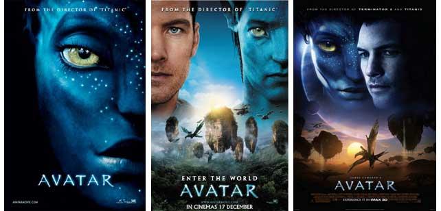 Poster Avatar x3